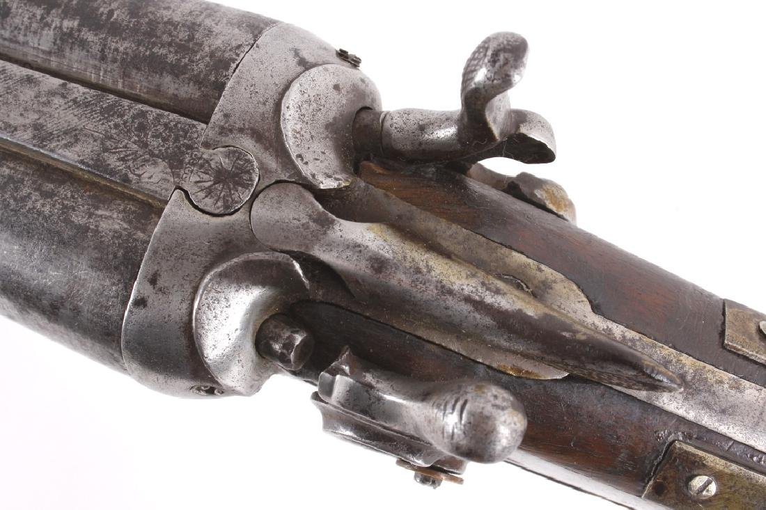 W. Richards Side by Side 10 Gauge Shotgun - 7