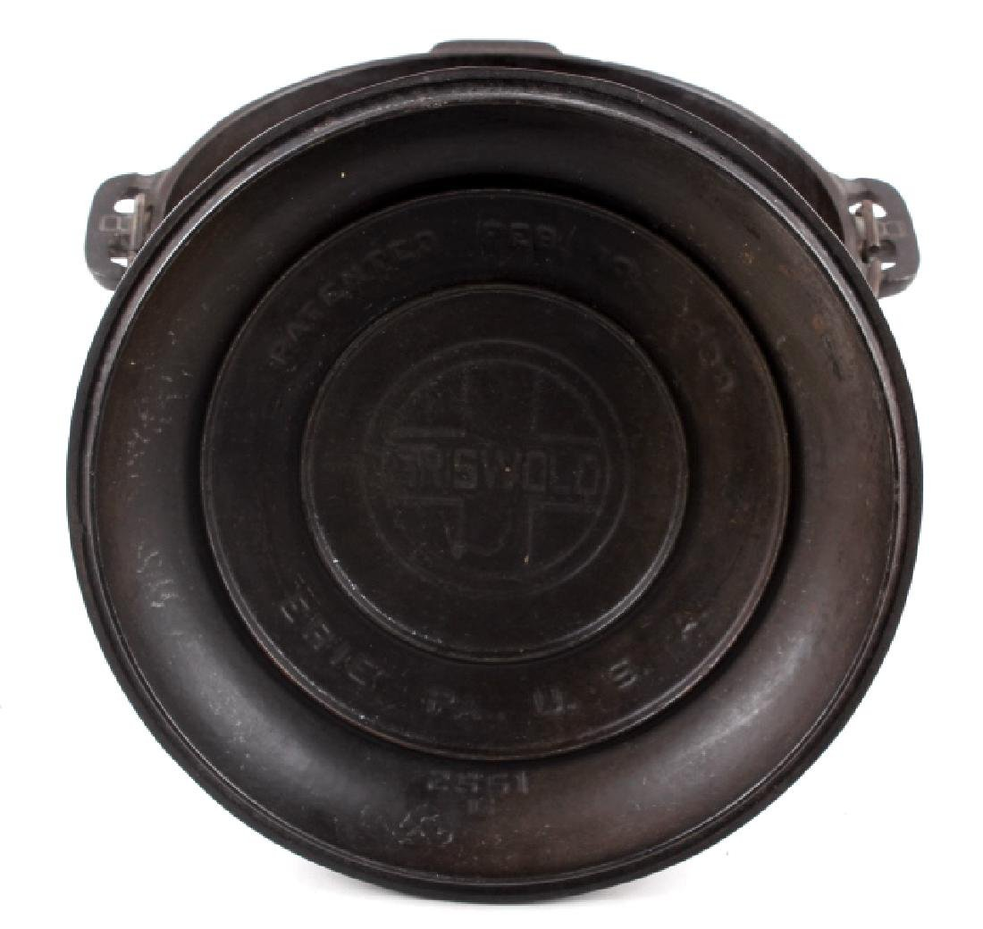Griswold No. 8 Cast Iron Tite-Top Dutch Oven - 3