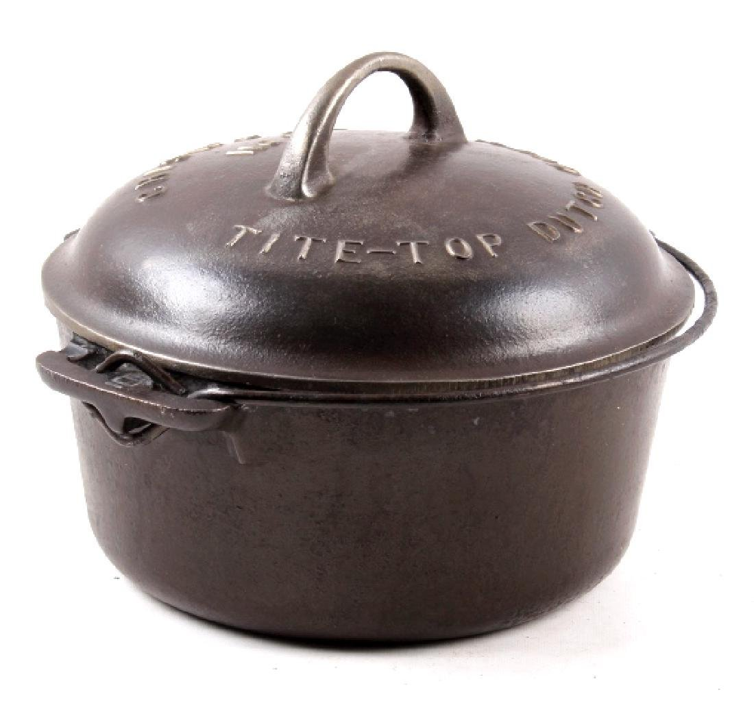 Griswold No. 6 Cast Iron Tite-Top Dutch Oven - 11