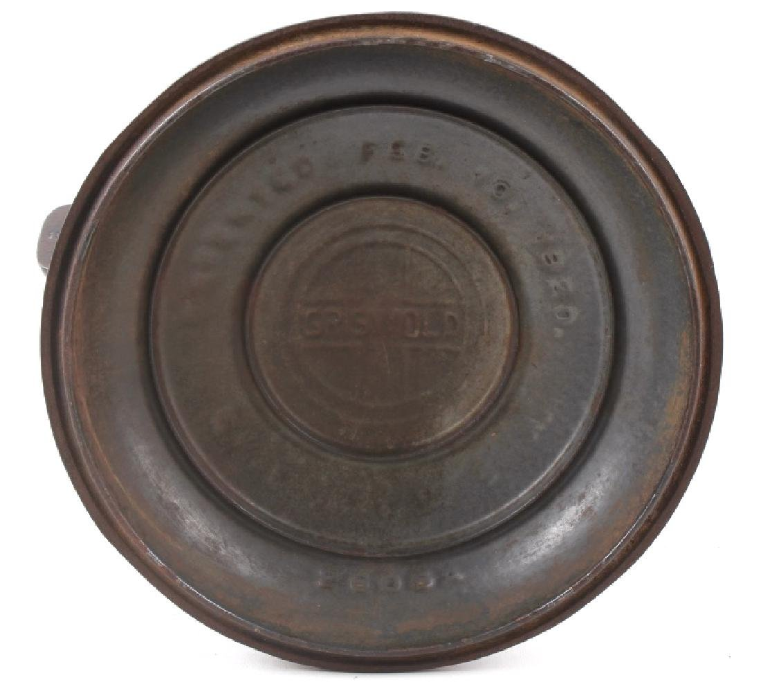 Griswold No. 6 Cast Iron Tite-Top Dutch Oven - 4