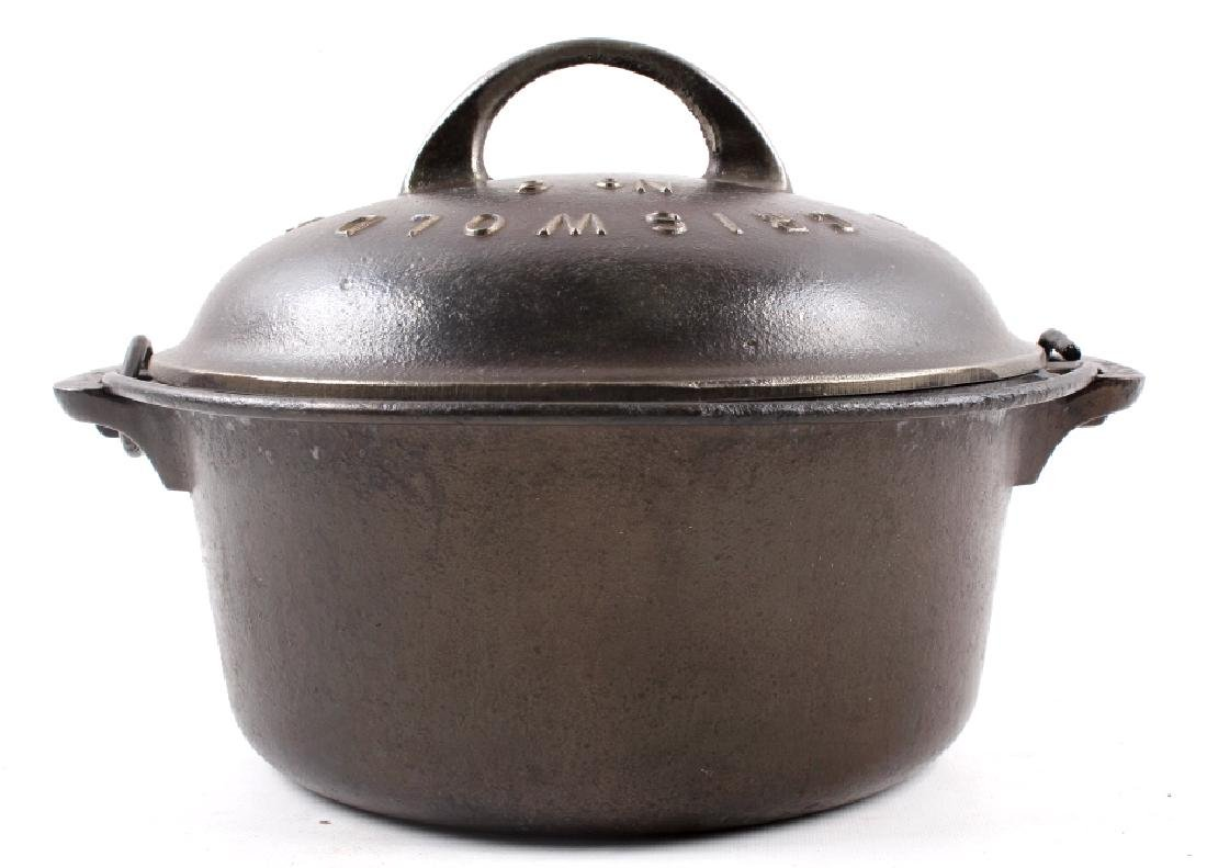 Griswold No. 6 Cast Iron Tite-Top Dutch Oven - 7