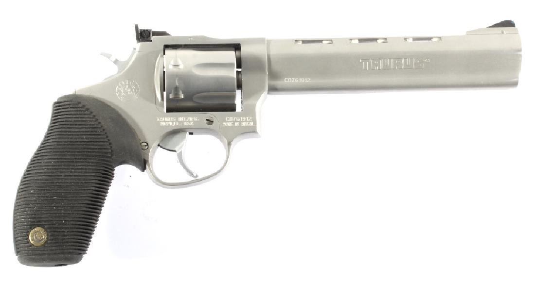 NIB Taurus Tracker 17HMR D/A Target Revolver - 2