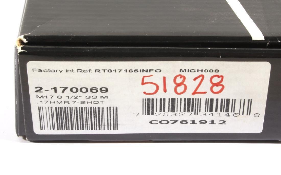 NIB Taurus Tracker 17HMR D/A Target Revolver - 5