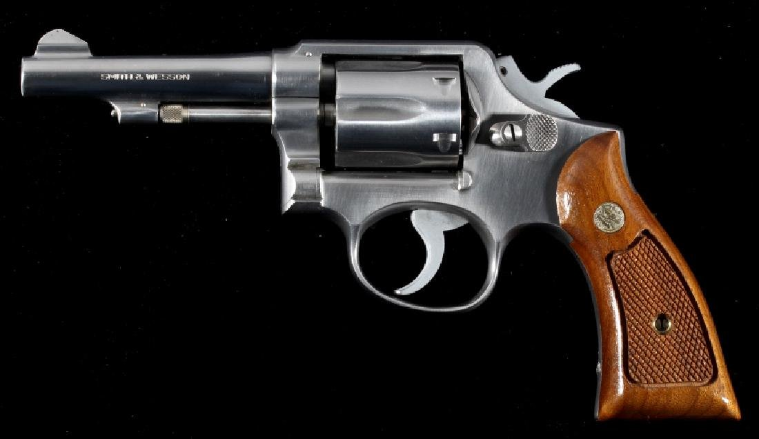 Smith & Wesson Model 64 D/A Stainless Revolver - 2