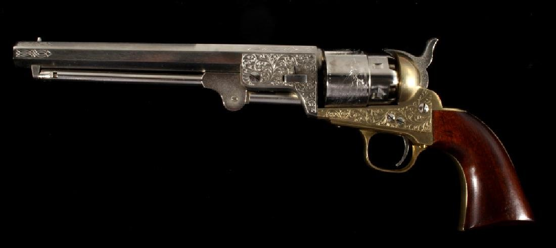ASM Italian Colt Dragoon .44 Percussion Revolver - 4
