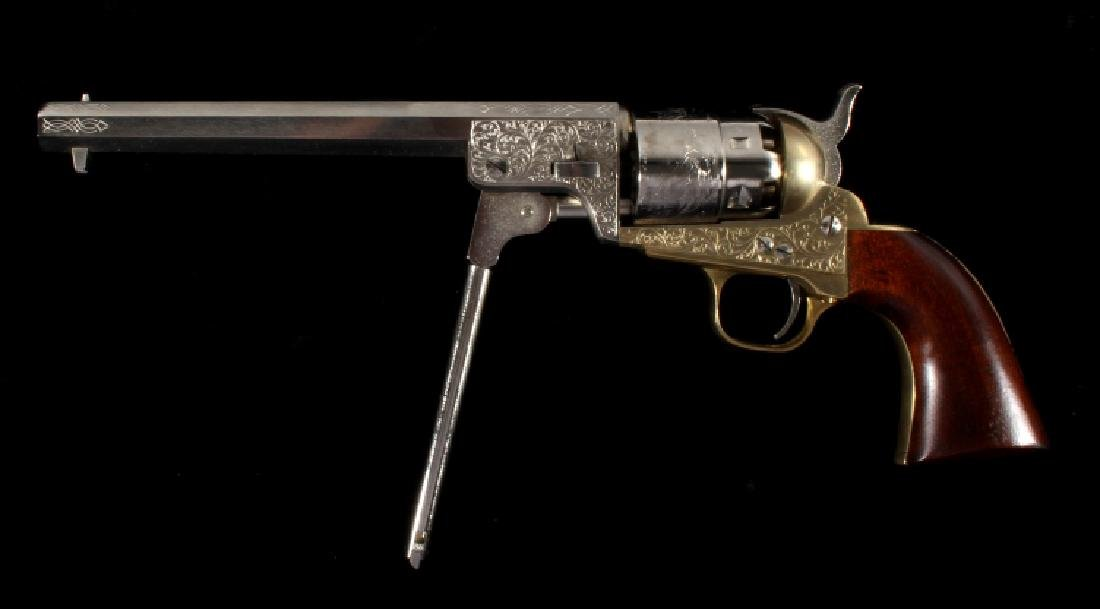 ASM Italian Colt Dragoon .44 Percussion Revolver - 8