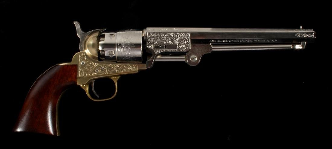 ASM Italian Colt Dragoon .44 Percussion Revolver - 9