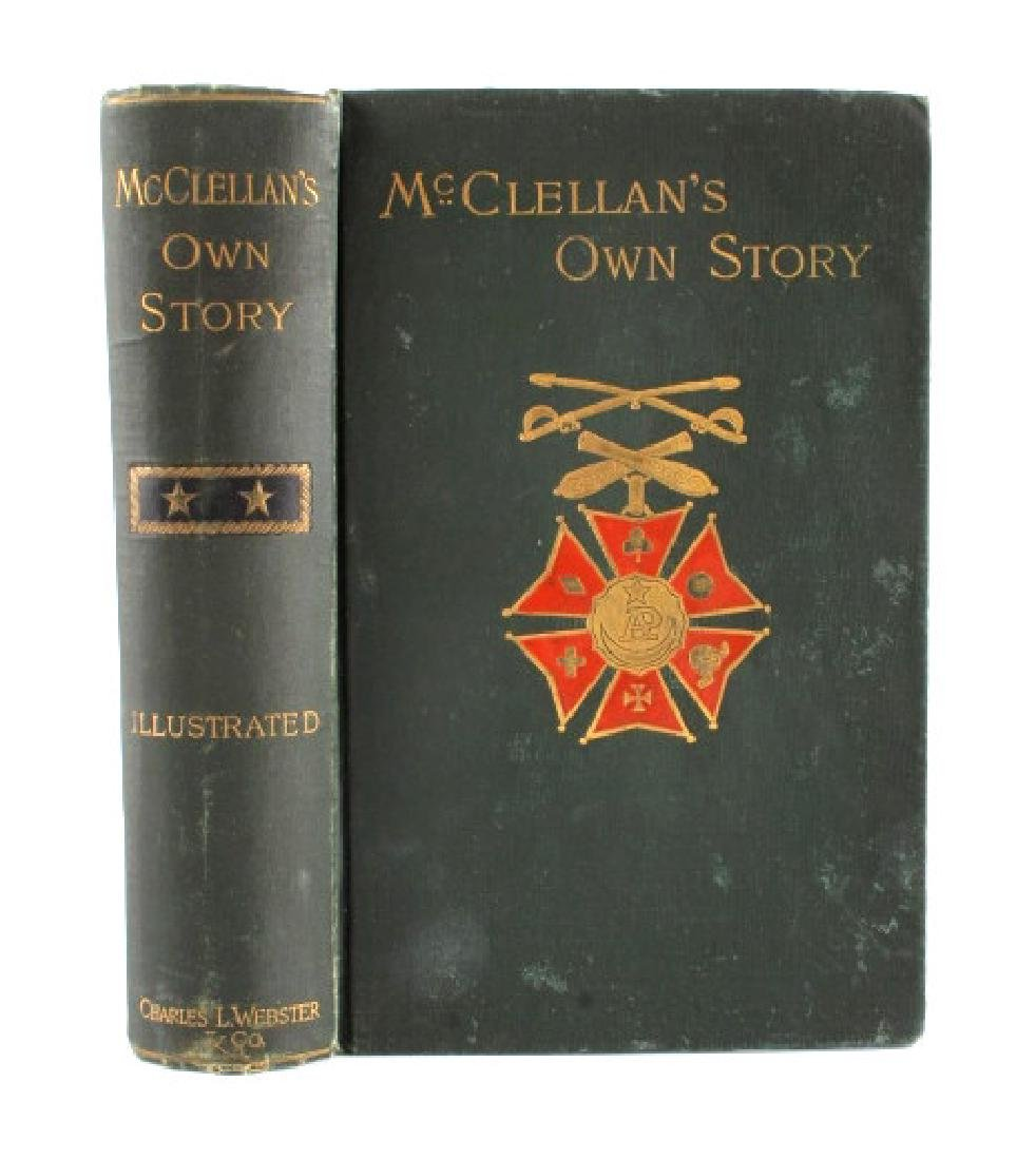McClellan's Own Story First Edition 1887 - 2