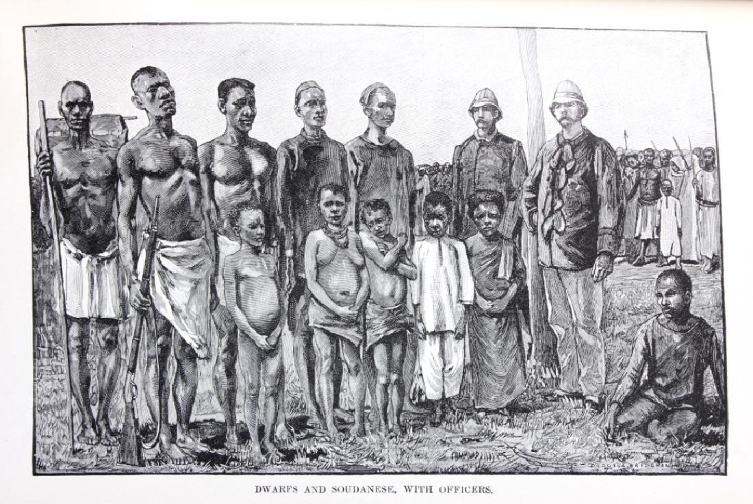 In Darkest Africa by H.M. Stanley 1st Ed. w/ Maps - 10