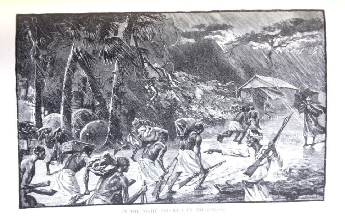 In Darkest Africa by H.M. Stanley 1st Ed. w/ Maps - 6