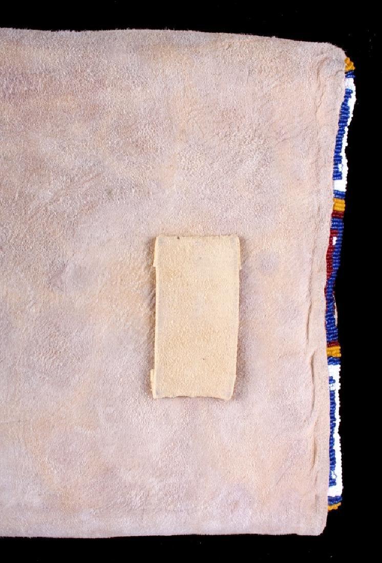 Blackfeet Indian Beaded Possibles Teepee Bag - 15