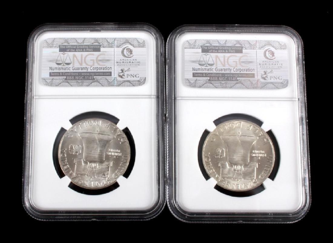 Graded Franklin Half Dollar Collection - 3