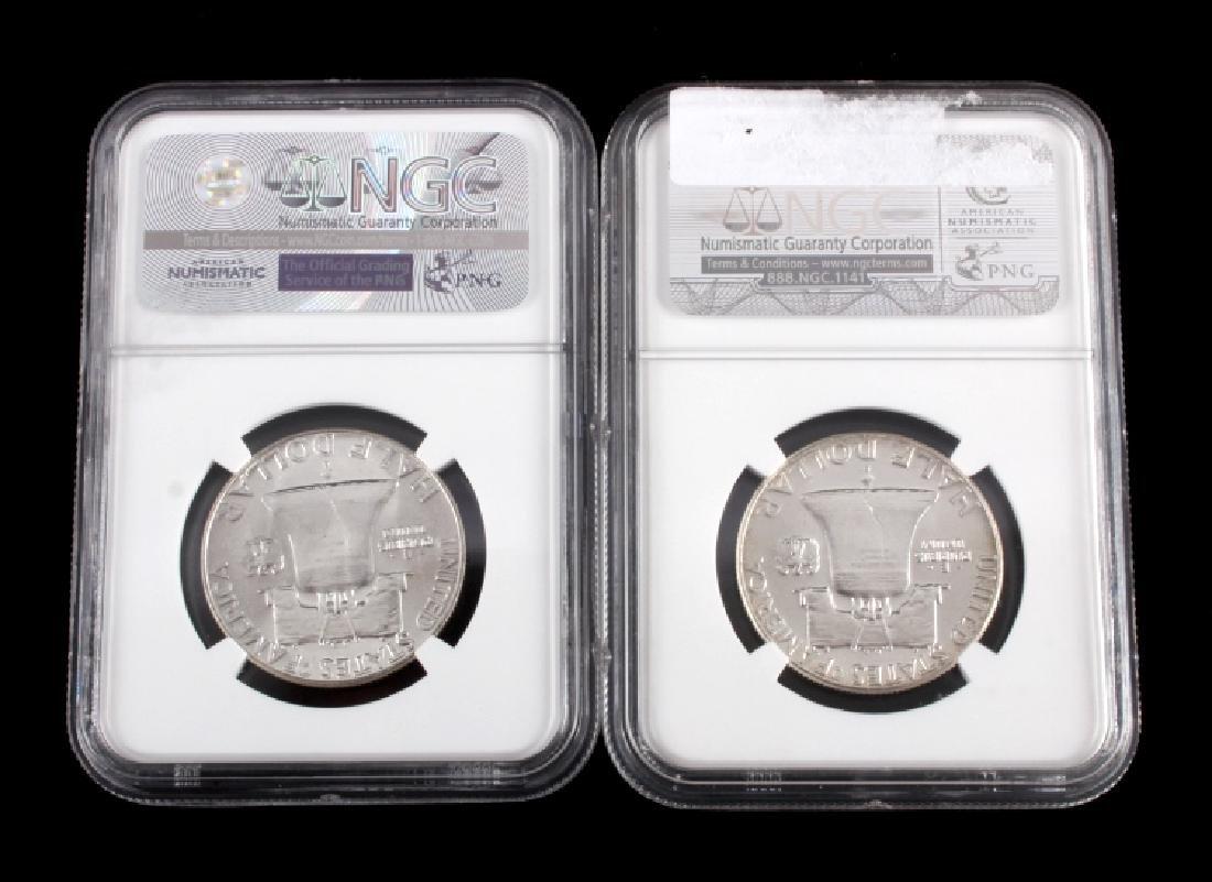 Graded Franklin Half Dollar Collection - 5