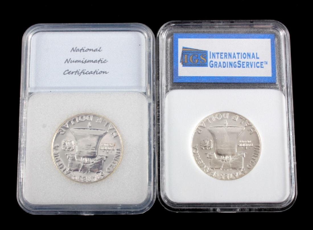 Graded Franklin Half Dollar Collection - 7