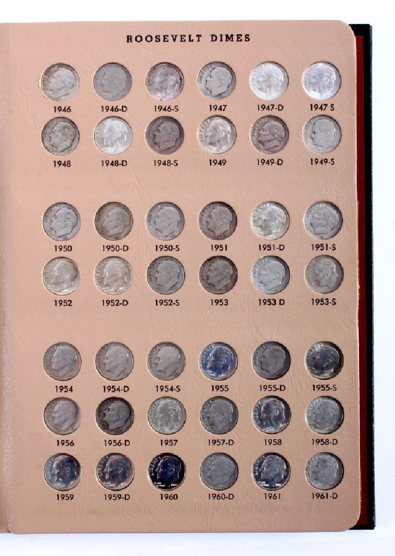 Complete Set Roosevelt Dimes 1946-2013 - 3