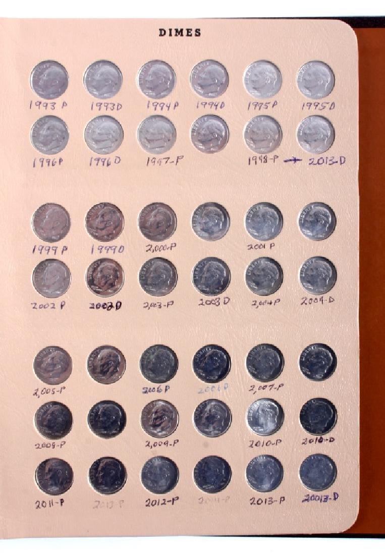 Complete Set Roosevelt Dimes 1946-2013 - 6
