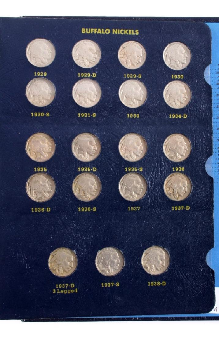 Complete Set Buffalo Nickels 1913-1938 - 5