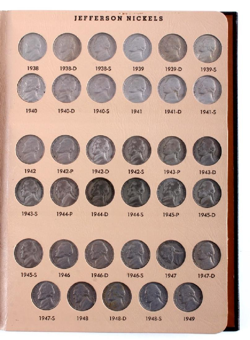 Complete Set Jefferson Nickels 1938-2000 - 2