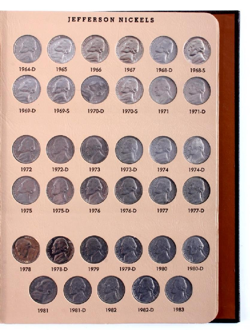 Complete Set Jefferson Nickels 1938-2000 - 4