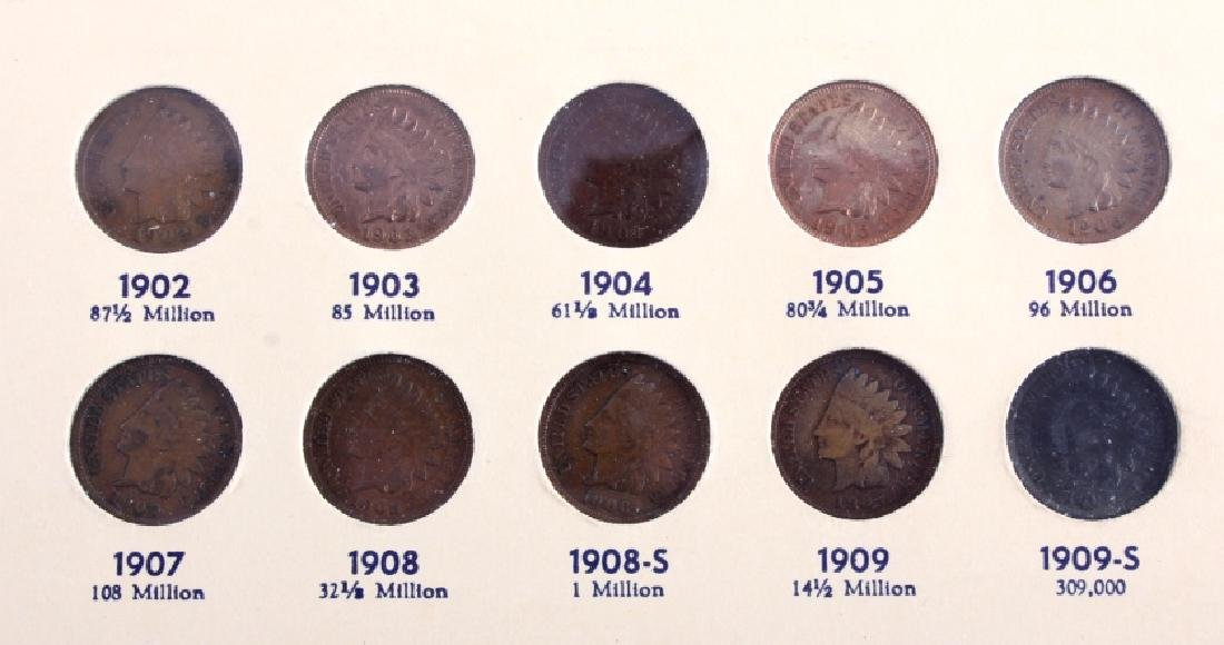 Flying Eagle & Indian Head Cent Collection - 10