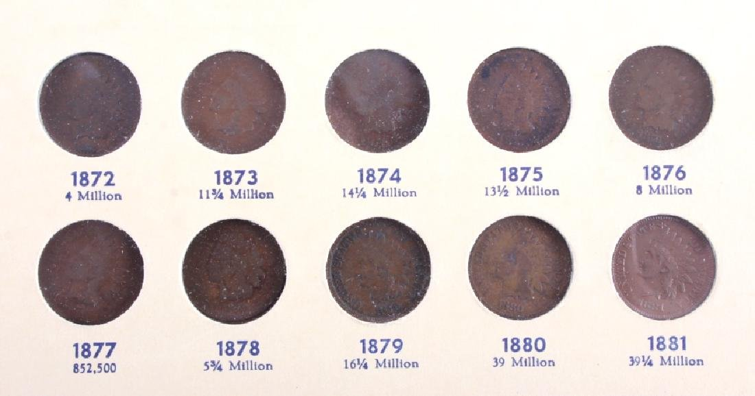 Flying Eagle & Indian Head Cent Collection - 6