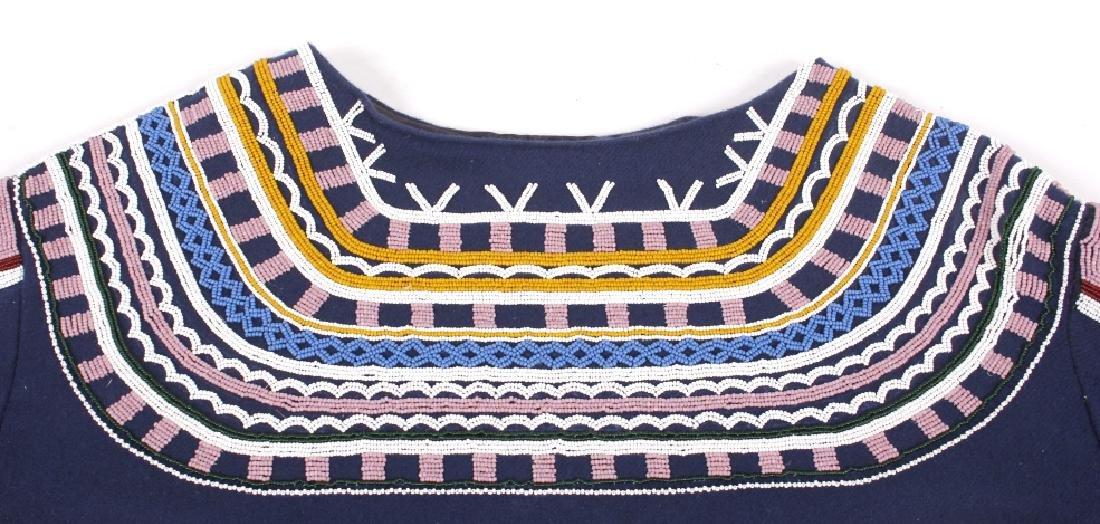Ojibwa Indian Beaded War Shirt EXCELLENT - 12