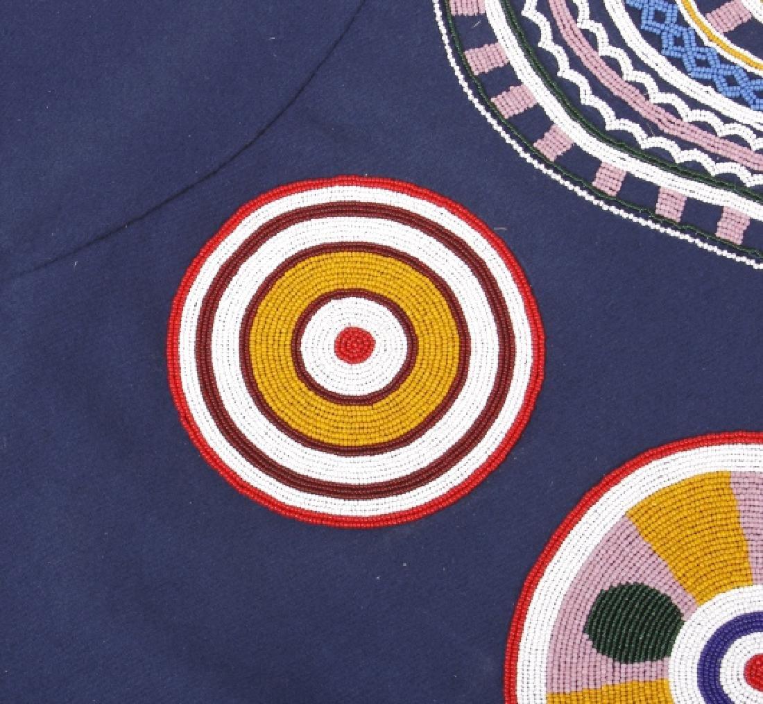Ojibwa Indian Beaded War Shirt EXCELLENT - 13