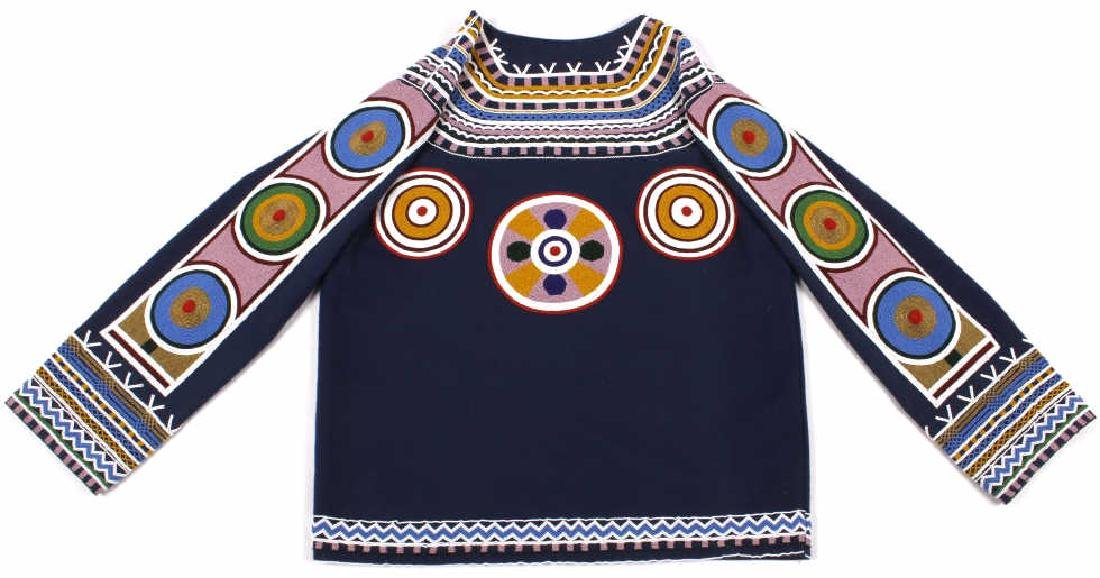 Ojibwa Indian Beaded War Shirt EXCELLENT