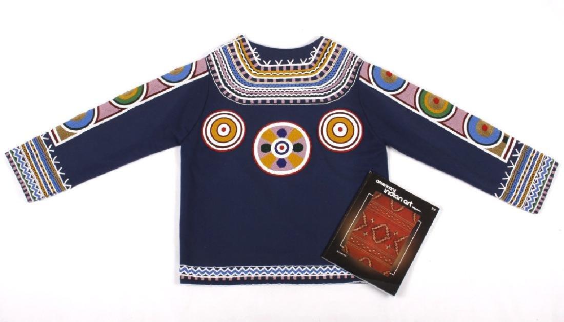 Ojibwa Indian Beaded War Shirt EXCELLENT - 2