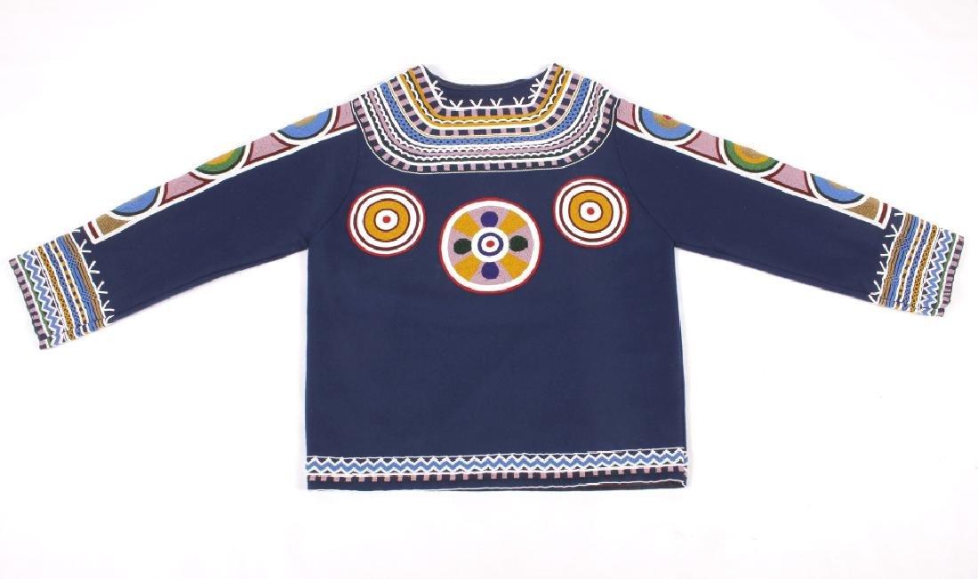 Ojibwa Indian Beaded War Shirt EXCELLENT - 3