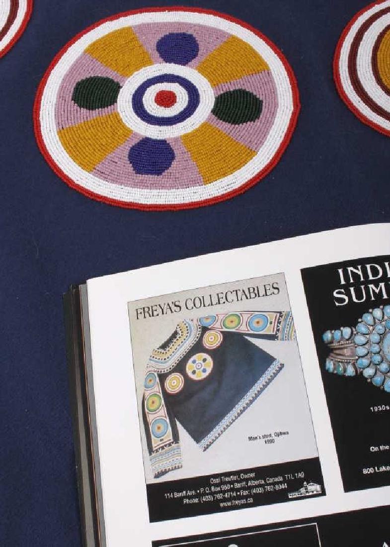 Ojibwa Indian Beaded War Shirt EXCELLENT - 4