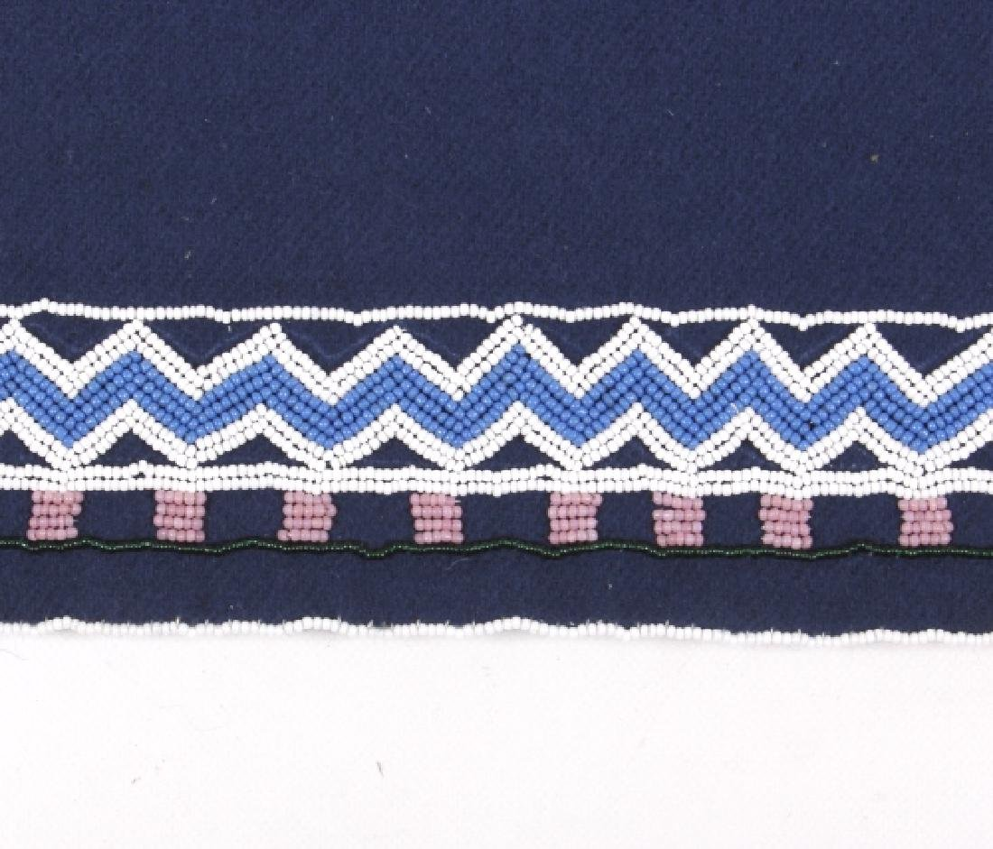 Ojibwa Indian Beaded War Shirt EXCELLENT - 5