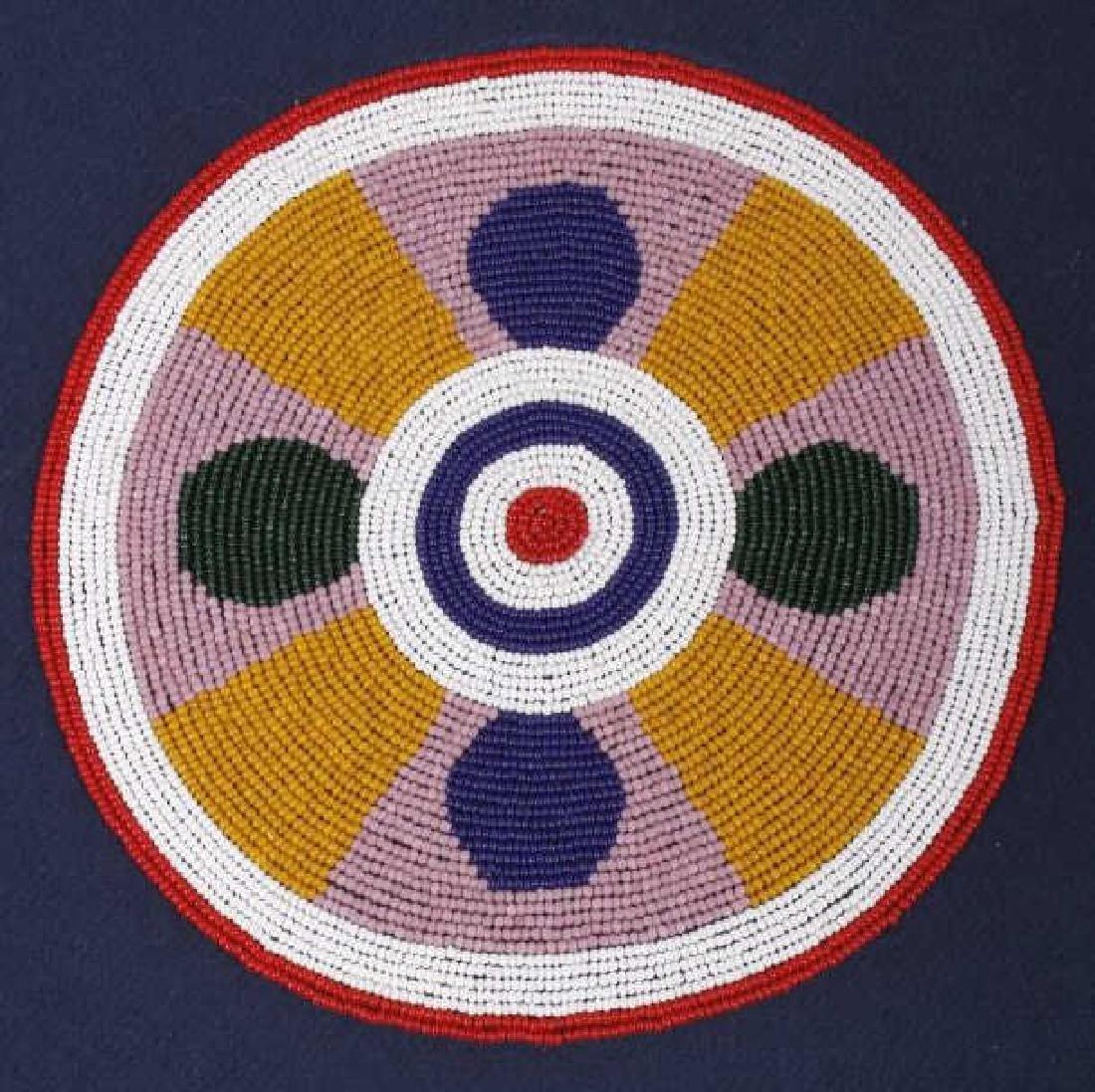 Ojibwa Indian Beaded War Shirt EXCELLENT - 6
