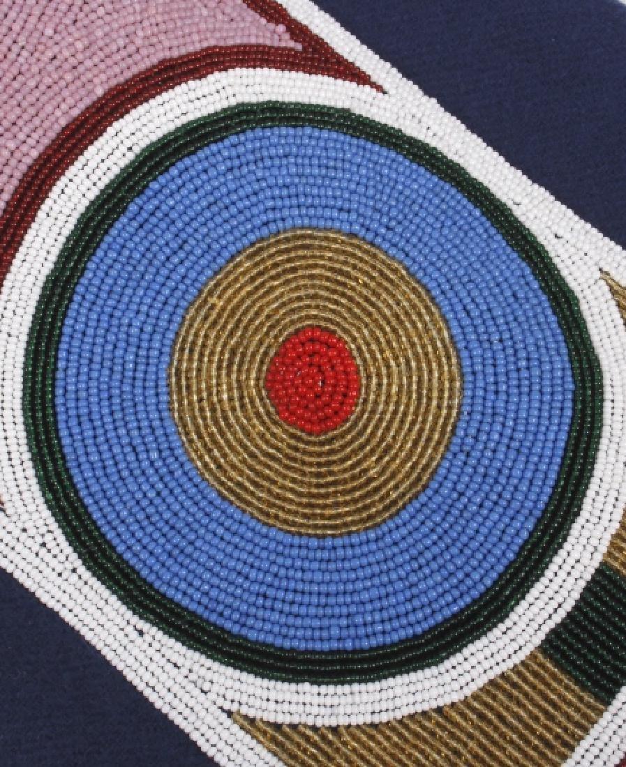 Ojibwa Indian Beaded War Shirt EXCELLENT - 7