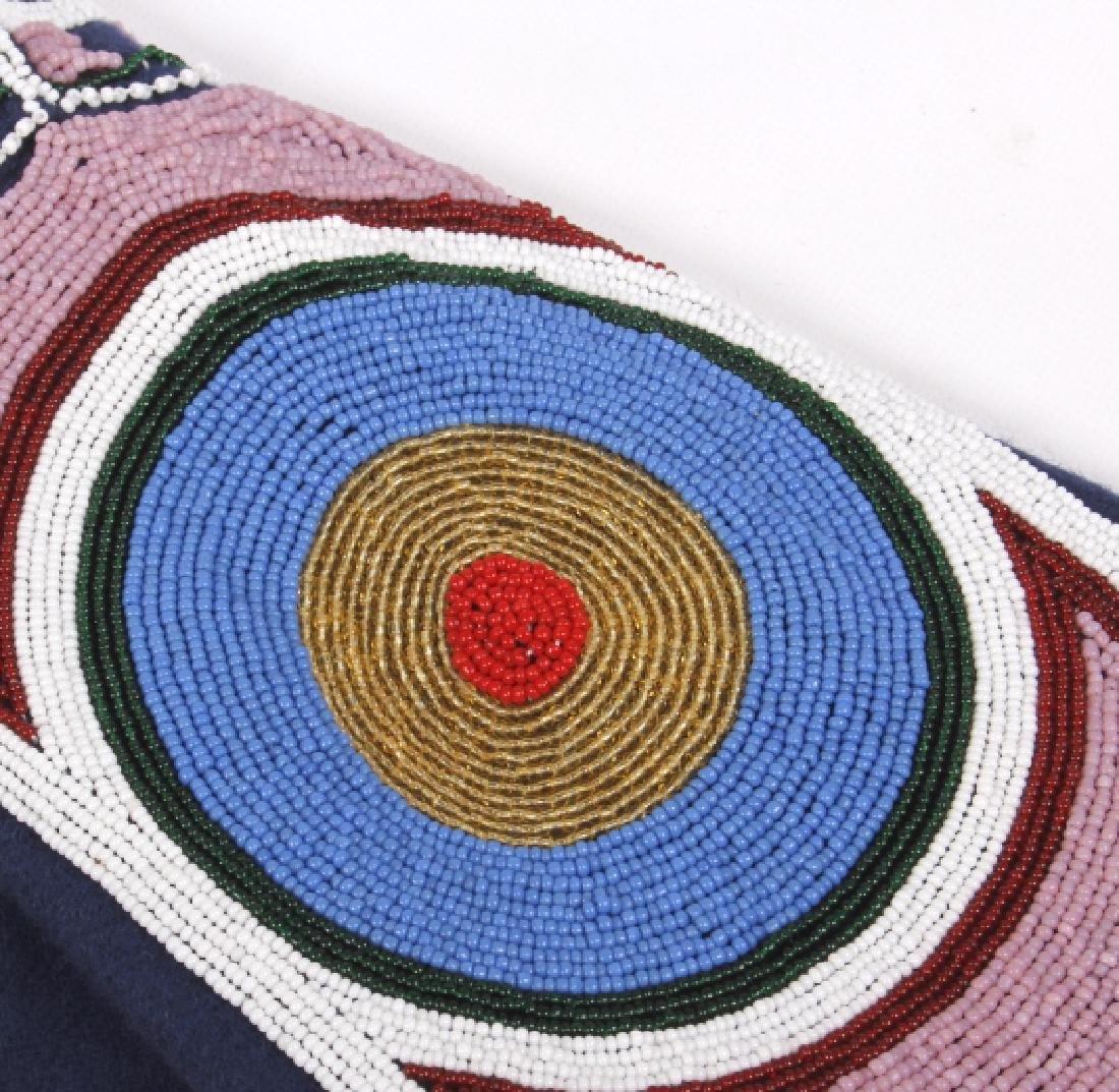Ojibwa Indian Beaded War Shirt EXCELLENT - 9
