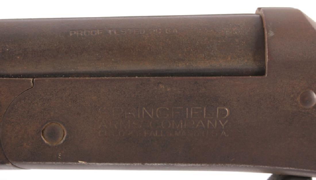 Springfield Arms Co. Single Shot 20ga. Shotgun - 7