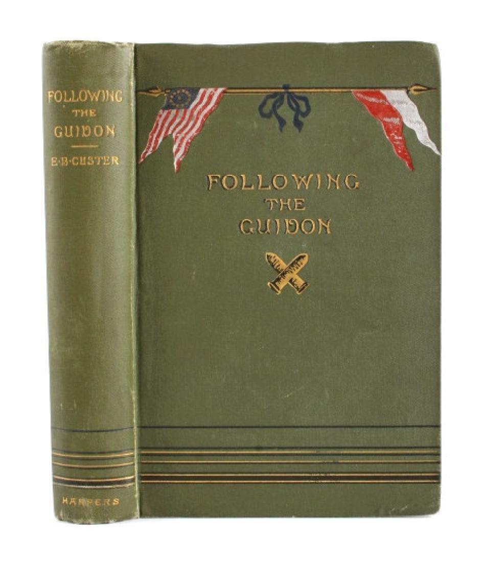 Following the Guidon 1st Ed. 1890 Elizabeth Custer - 2