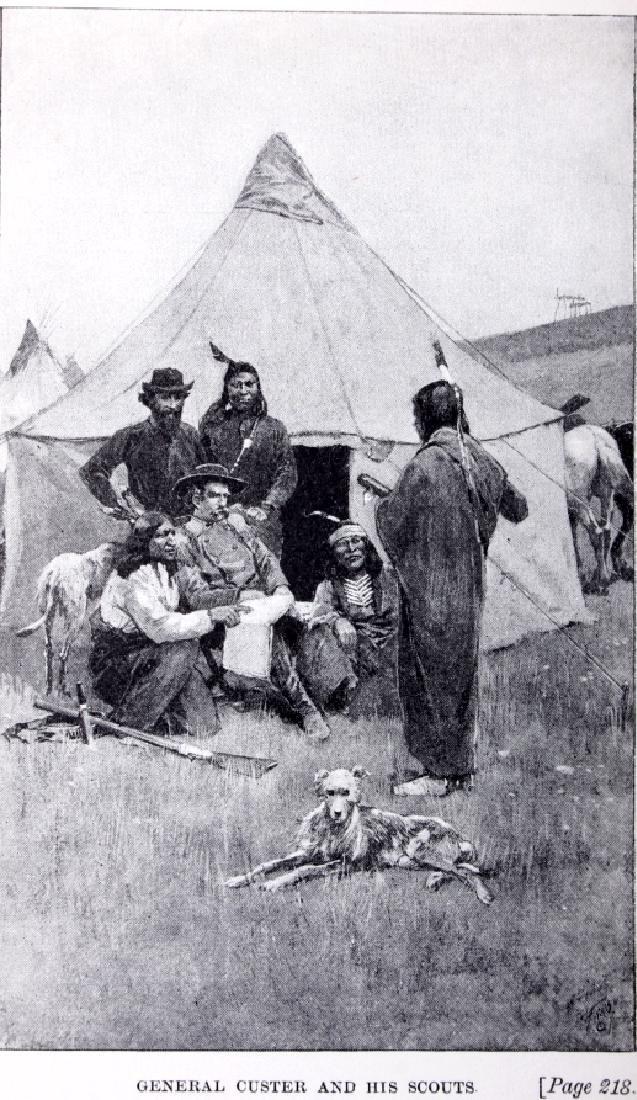 Following the Guidon 1st Ed. 1890 Elizabeth Custer - 4