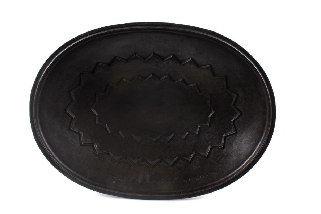 Wagner Ware Cast Iron Large No. 9 Oval Roaster - 6