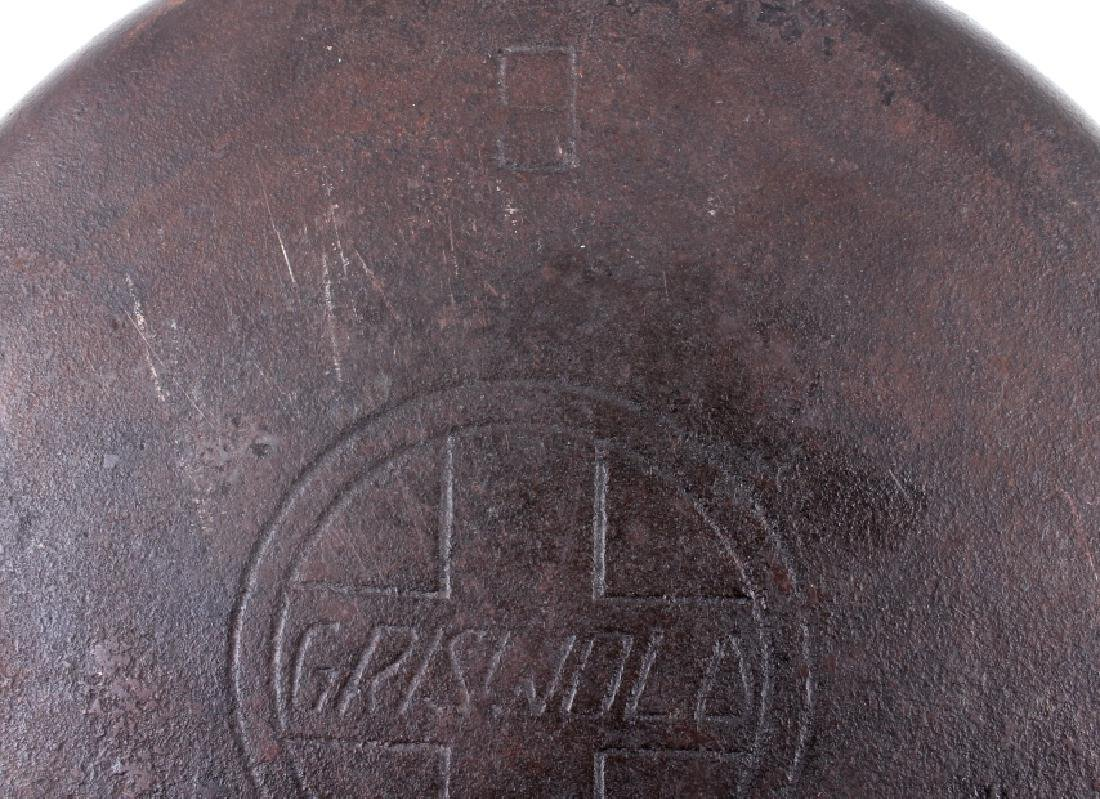 """Early """"Slant Erie"""" Griswold No. 9 Dutch Oven - 10"""