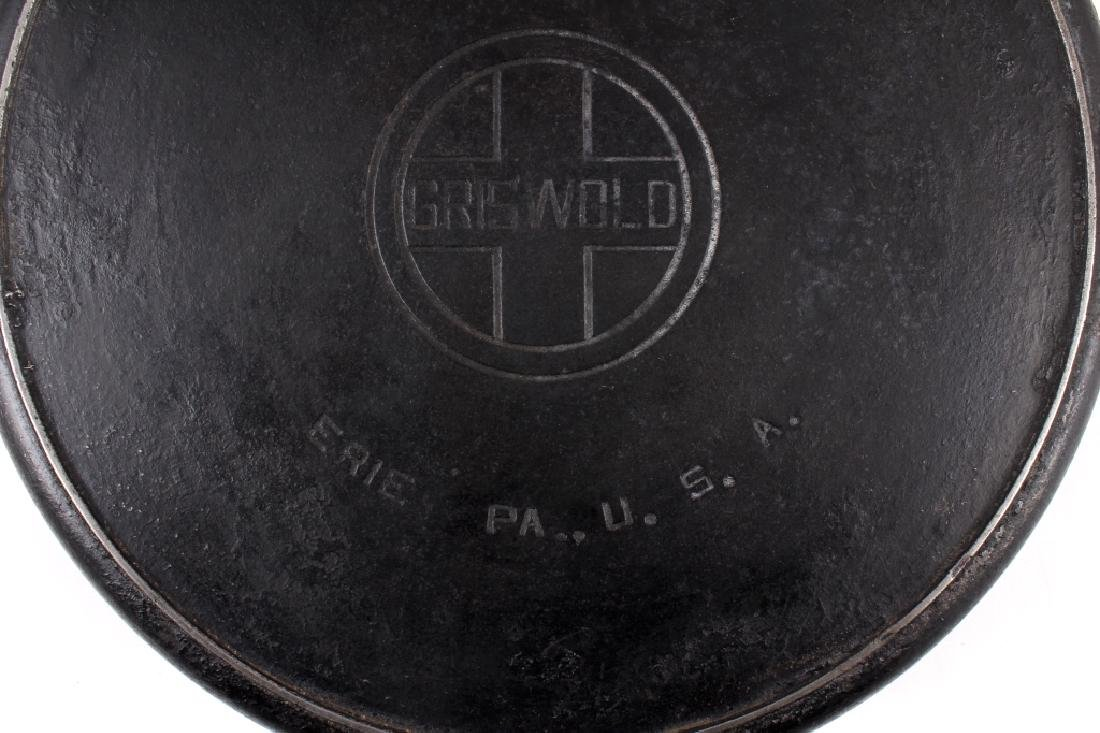 Griswold No. 12 Self Basting Skillet With Cover - 11