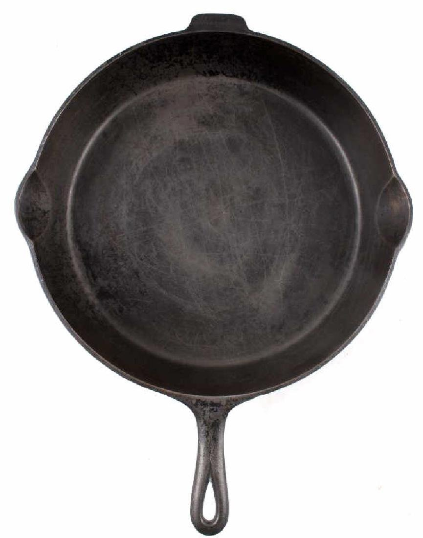 Griswold No. 12 Self Basting Skillet With Cover - 7