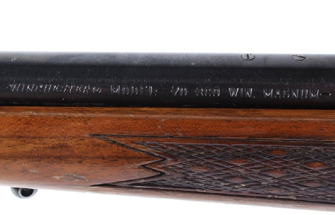 Winchester Model 70 300 WIN Mag Bolt Action Rifle - 15