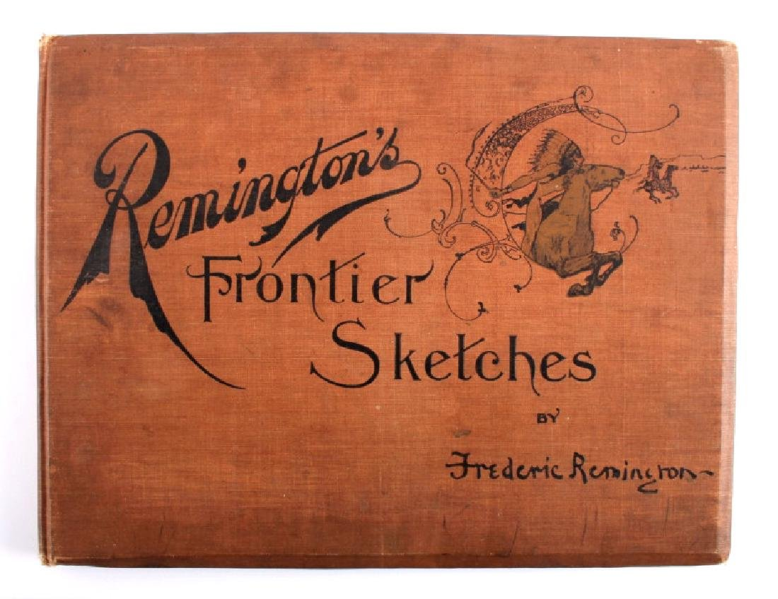Remington's Frontier Sketches 1898