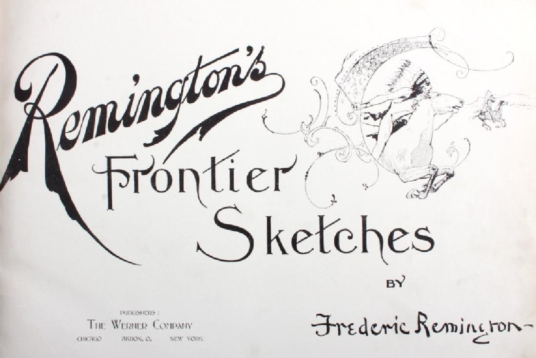 Remington's Frontier Sketches 1898 - 2
