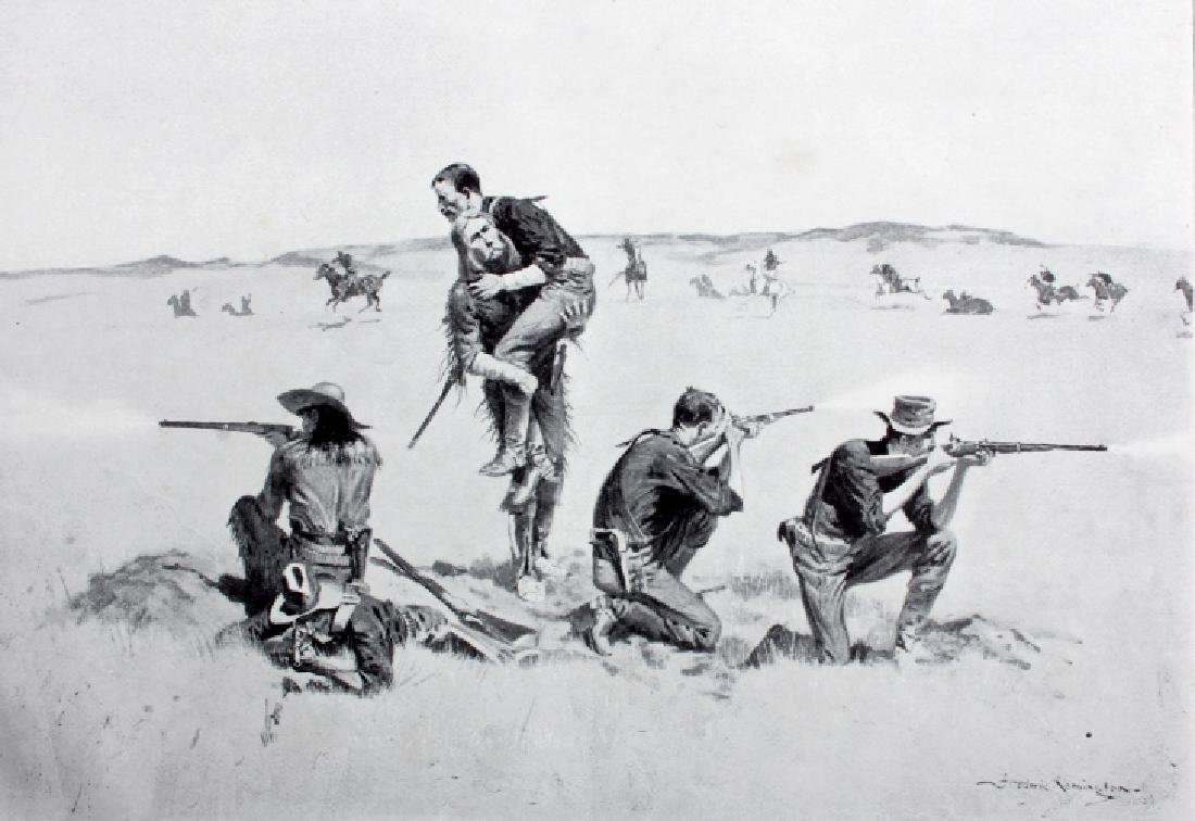 Remington's Frontier Sketches 1898 - 6