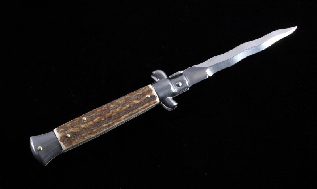Frank Beltrame Italian Stiletto Kriss Switchblade - 2
