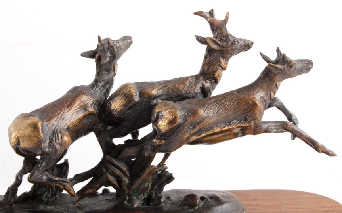 Original Harvey Rattey Bronze Sculpture - 10