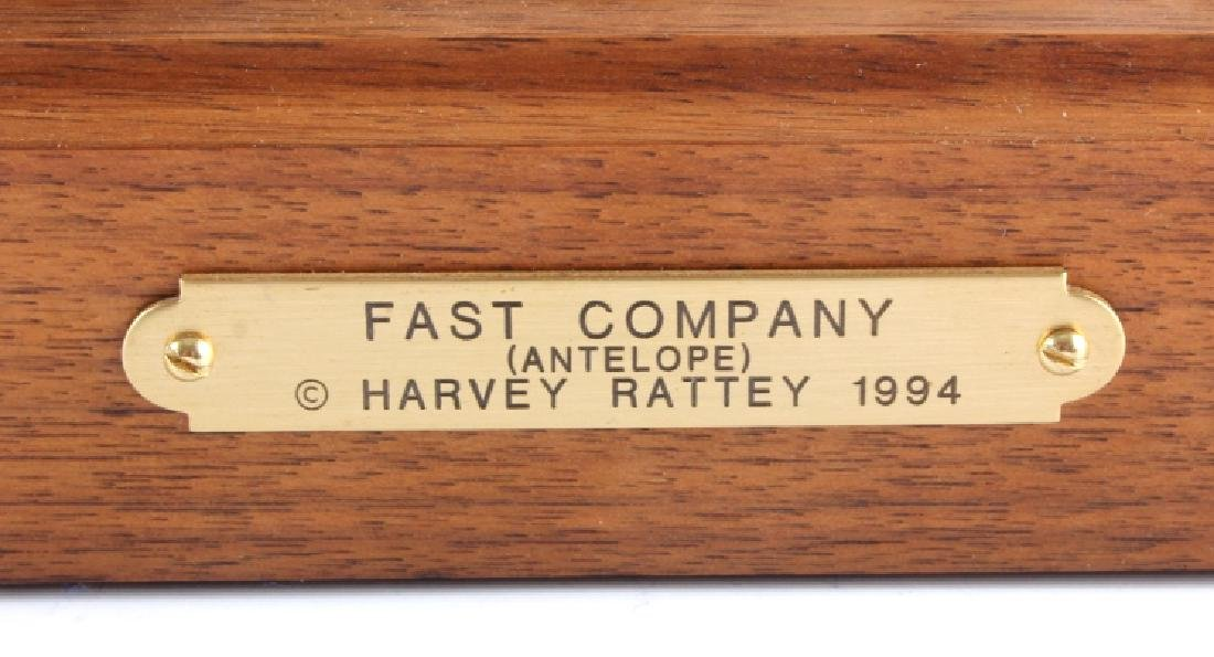 Original Harvey Rattey Bronze Sculpture - 3