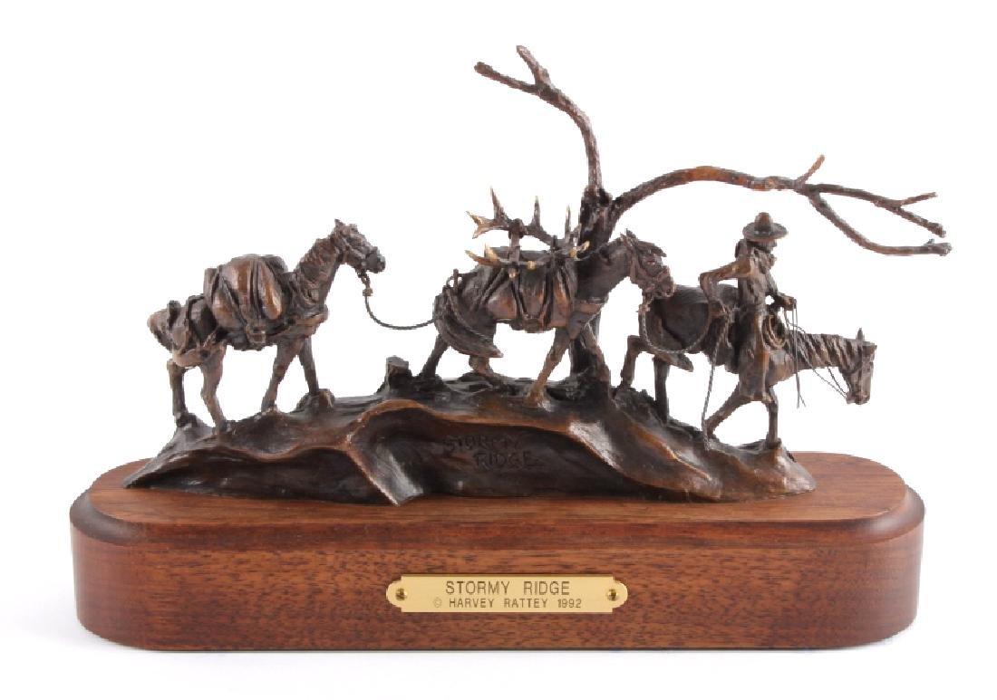 Original Harvey Rattey Bronze Sculpture